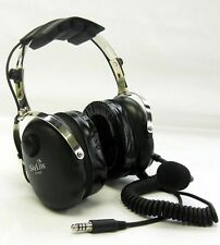 SkyLite SL-900H Helicopter Aviation Headset Gel Ear Seal Free Flight Bag U-174/U