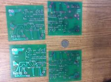 CIRCUIT BOARDS  --Four NEW  UNUSED  empty circuit boards