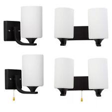 Modern Glass LED Light Wall Sconce Lamp Lighting Fixture Indoor Bedroom Decor
