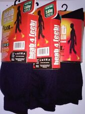 3 Pair Mens Warm Thermal Socks Heavy Duty Heat Control Locker Winter Boys Gents