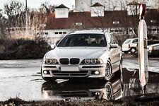 Nieren Set BMW E39 Touring Kühlergrill Grill schwarz glänzend M5 Salberk 3901