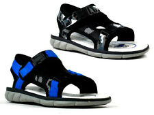 Boys Kids New Easy Fastening Open Toe Grip Sole Rounded Toe summer Sandals