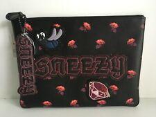 Coach Disney (72912) Snow White Lg Pouch SNEEZY Bag & SNEEZY hang tag NWT$286