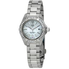 f7c67a5c43d Tag Heuer Aquaracer Diamond Mother of Pearl Dial Ladies Watch Wbd1413.ba0741
