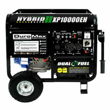 DuroMax XP10000EH 10000-Watt Electric Start Dual Fuel Hybrid Portable Generator