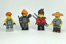 LEGO Ninjago Minifigre from 70629 - Misako Iron Dragon Lady Kai Ray Shark army