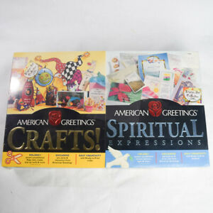 American Greetings Crafts & Spiritual Expressions Software Windows 95/98