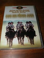 dvd  LE GANG DES FRERES JAMES  david carradine  très bon état