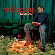 WILL YOUNG: KEEP ON - CD (2005) 12 TRACKS: SWITCH IT ON, ALL TIME LOVE, WHO AM I