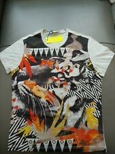 Authentic, brand new, Versace Jeans Tiger print T shirt size M
