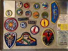 Vintage boy scout Patch Badge Lot Ma-nu Oklahoma
