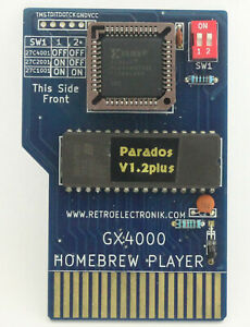 Parados V1.2+ UK OS cartridge for the Amstrad CPC+ (plus) 6128