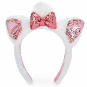 Disney Parks Marie Plush Ears Headband -The Aristocats - Minnie Mouse