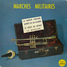 45TRS VINYL 7''/ FRENCH EP SAPHIR 5051 / MARCHES MILITAIRES