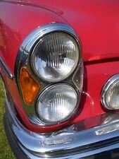 "Scheinwerfer Umrüstsatz Mercedes Benz W108 W111 US ""E"" W109 NEU headlights R107"