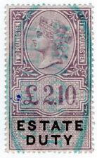 (I.B) QV Revenue : Estate Duty £2 10/-