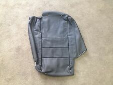 2006-2009 Land Rover LR3 Rear Outer Back-Top Black Leather Seat Cover