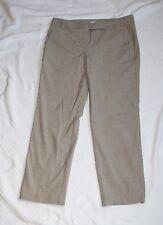 New York & Company Womens 2 Tan Dress Capris Capri Pants W30 R8 L24.5