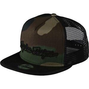 Troy Lee Designs Snapback Hat Cap TLD Youth Kids MX Motocross Bmx Mtb ARMY CAMO