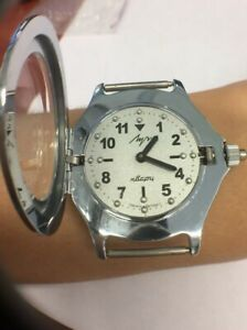 Soviet quartz watches LUCH for blind people.  Perfect, new condition. Watch USSR