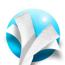 4m Klettband Selbstklebend o. Aufnähen 20mm Klettverschluss Weiß Haken + Flasch