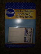 Set of 24 Pillsbury doughboy All American Kitchen and Baking Labels NIP