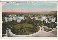 LAM(Y) Washington, DC - Library of Congress and House Office Building - Aerial