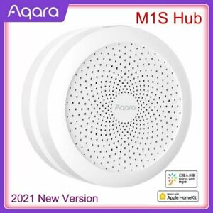 Aqara Hub Mi Gateway M1S Zigbee 3.0 APP Smart Home Work Mijia APP Apple HomeKit