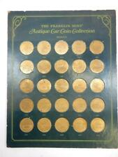 Franklin Mint Antique Car Coin Collection, Series 2, 1901-1925,  1969  #H55