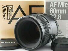 Near Mint in BOX Nikon AF Micro Nikkor 60mm F/2.8 AF Prime Lens w/cap from Japan
