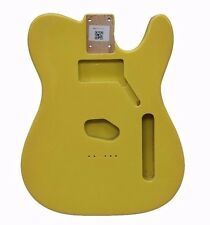 Eden Standard Series Paulownia Body Telecaster Guitar Graffiti Yellow