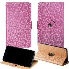Diamond Flipcase Cover Hülle Schutzhülle Handy Tasche Flip Case Handytasche Frau