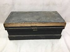 Antique Toolbox Wood Primitive / Tool Chest