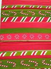 Decorative Christmas Table Runner St Nicholas Square Red/Green 36x13