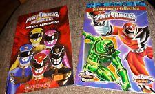 Lot Of 2 Paperback Books Power Rangers Disney