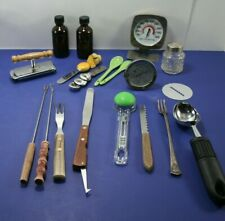 Miscellaneous Vintage and Otherwise Stainless Kitchen Gadgets &Tools