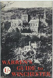 WINCHESTER Warren's Guide 1950 information & illustrations & local adverts