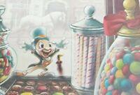 Disney Jiminy Cricket Extraordinary Confectionery Postcard