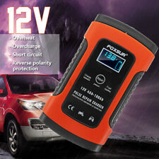 12V 5A Auto Pulse Repair Battery Charger For Car Motorcycle AGM Gel Lead