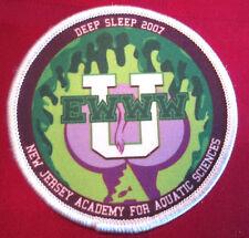 Deep Sleep 2007 U Ewww New Jersey Academy For Aquatic Sciences Uniform Patch
