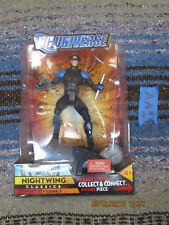 AA1_4 DC Universe Classics Lot NIGHTWING BLACK VARIANT (ERROR?) Wave 3 BAF dcuc
