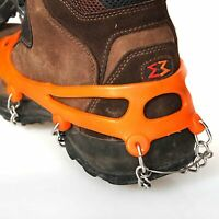 Camping Hiking Anti-slip Shoes Gripper Snow Ice Walking Traction Cleats Charm