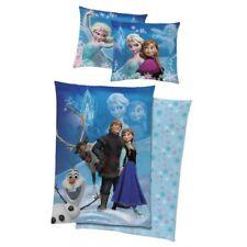 Linge de lit LISSE Disney Reine des Neiges Sven Olaf Anna Elsa 135 x 200 cm