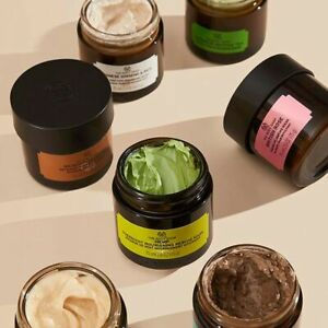 The Body Shop | Face Masks | Natural, Vegan and Night Mask | 75ML & 15ML | New