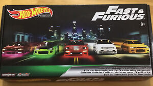 Hot Wheels Fast And Furious Box Set Real Riders Rx7 Skyline Vw