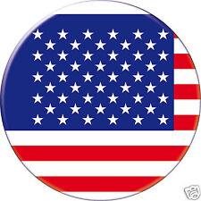 5 x sticker 5cm auto moto velo valise pc portable drapeau Rond États-Unis