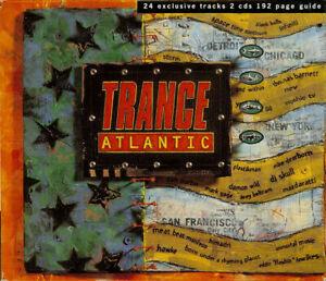 Various – Trance Atlantic (2xCD, Compilation) UK 1995  Trance, Techno, House