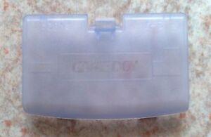 "Cache Pile ""Glacier"" Violet transparent - NEUF - Game Boy Advance - Gameboy GBA"