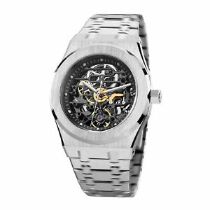 FEICE Sports Automatic Watch Men's Skeleton Mechanical Waterproof Sapphire
