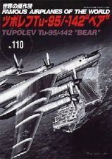 """Famous Airplanes of The World No.110 Tupolev Tu-95/-142 """"BEAR"""" Military Book"""